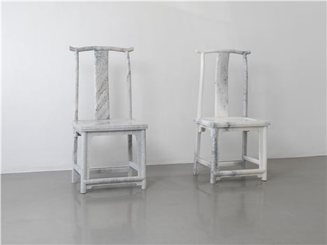 Ai Weiwei, Marble Chair, 2008, Courtesy The Artist And Lisson Gallery