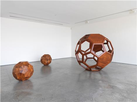 Ai Weiwei, Untitled 2010 Huali Wood Diam. 70 Cm Each -- Courtesy The Artist And Lisson Gallery