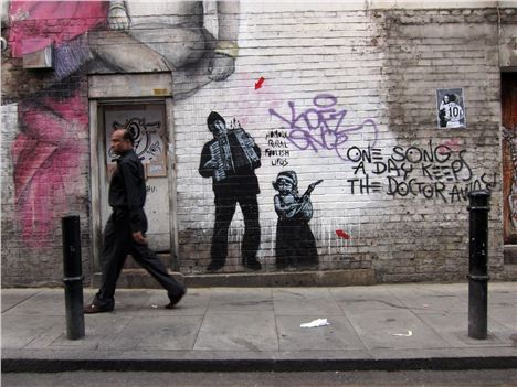Banksy Brick Lane