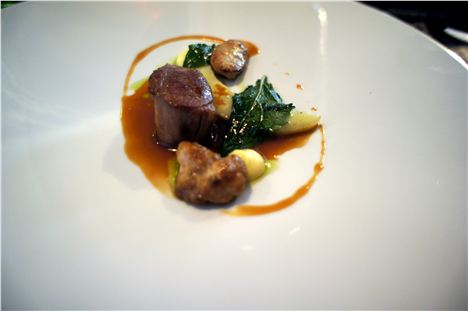 Cumbrian hogget, artichokes and chenopodiums