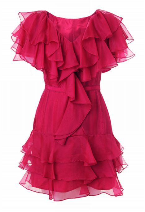 Selfridges Exclusive Rachel Zoe Ginger Tiered Ruffle Dress £355