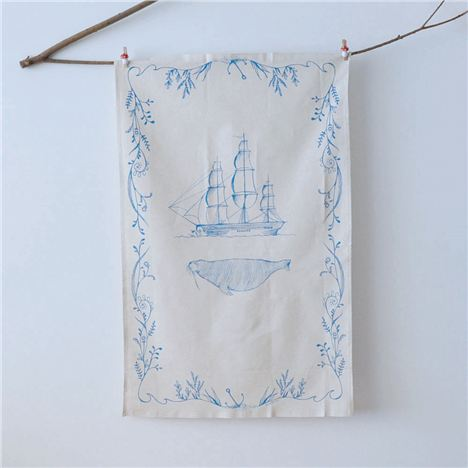 Tea Towel %28Branch%29 Ship