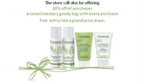 Exclusive Caudalie Shopping Event