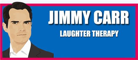 Jimmy Carr Laughter Therapy