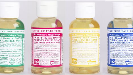 Dr Bronner's Mini Soap