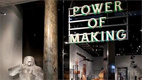 Power Of Making Exhibition At The V&A
