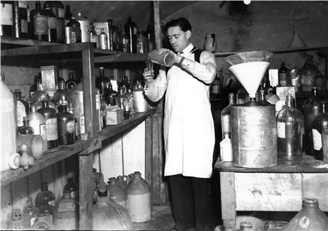 Michael Bodenham Creating Fragrance In The Mine 1930S