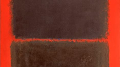 Rothko In Britain Exhibition at Whitechapel Gallery