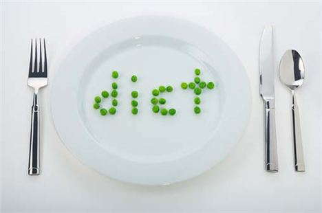 The 'spell words with your food' diet