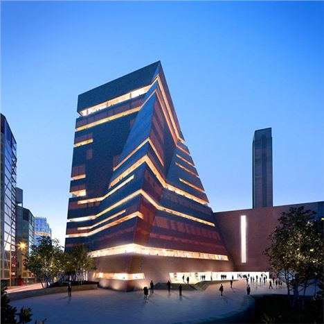 The Tate extension utilises traditional London building methods in a highly imaginative way %26#8211%3B Hayes Davidson and Herzog and de Meuron.