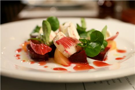 Copy Of Rivington_Beetroot And Goat's Cheese Salad - Close Up 2
