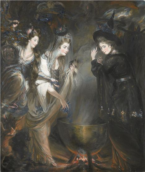 NPG The three witches