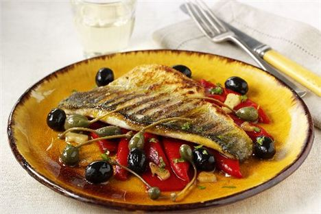 Pan-Fried Sea Bass