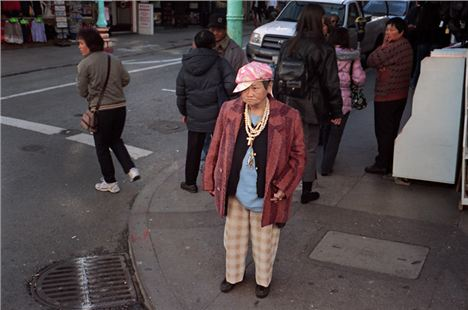 A hip-hop granny in San Fransisco