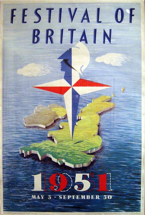 The 1951 Festival of Britain is seen by many as the catalyst which propelled Britain out of the post war depression and into the modern age in terms of technology and design
