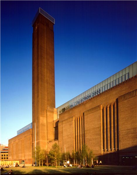 Britain's Industrial past meets uber cool European design in the iconic Tate Modern