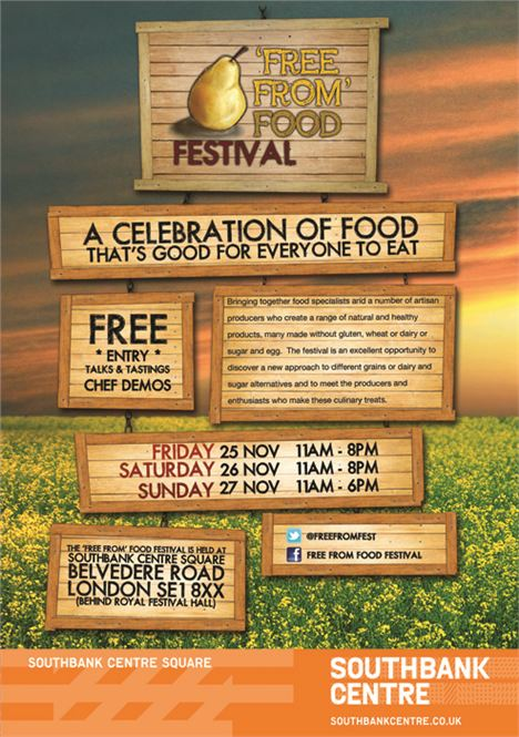 Free From Food Festival Flyer Final - Front