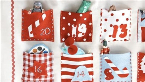 Dying for DIY: Buttonbag Calendar