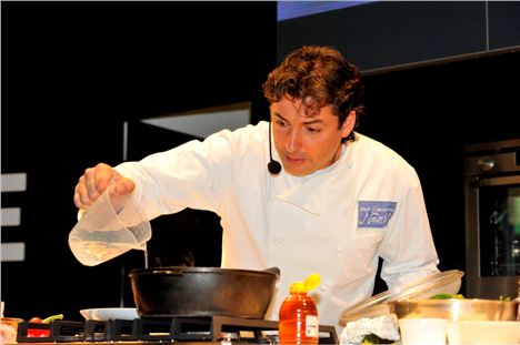 Jean-Christophe Novelli At Taste Of Christmas 2010