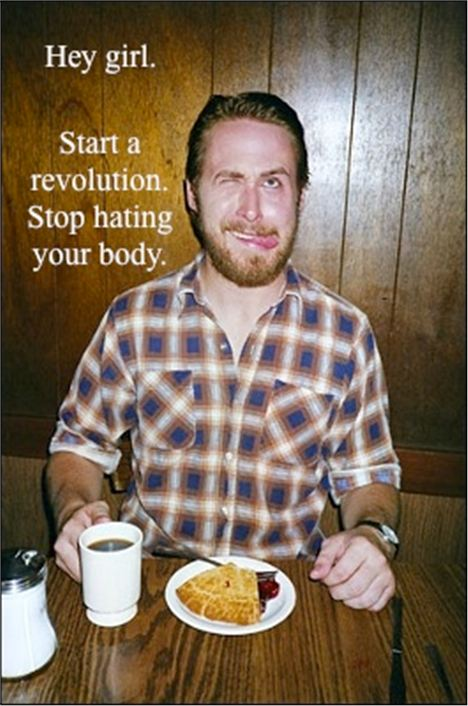 Start A Revolution. Stop Hating Your Body.