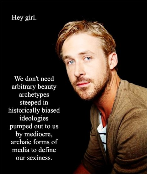 Feminist Ryan Gosling Post