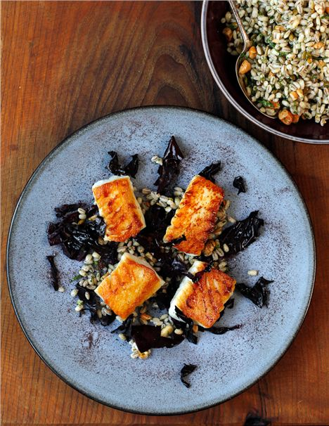 Roasted Cod With Barley