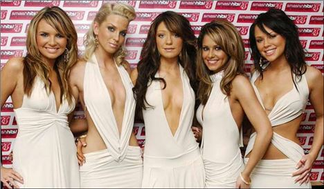 Girls Aloud In Nicola's Tanning Days