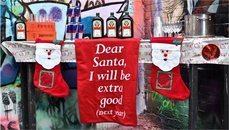 Bad Santa's Grotto at Graffik Gallery
