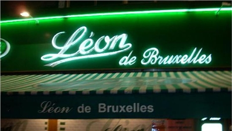 Leon de Bruxelles in London