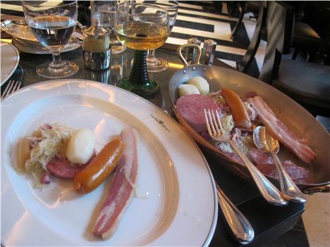 Choucroute At The Delaunay