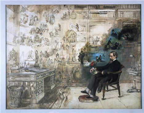 Dickens Dream By Robert William Buss C Charles Dickens Museum