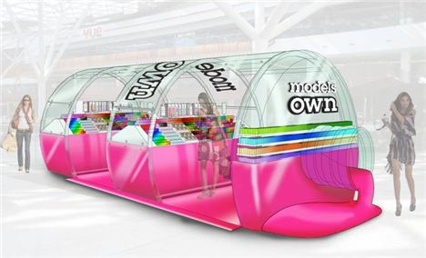 The design for the Models Own Bottleshop at Westfield