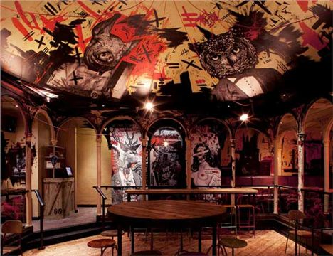 MeatLiquor interior