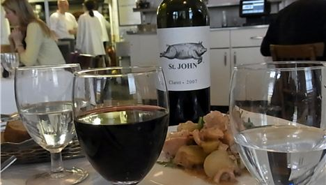 St John Restaurant Review